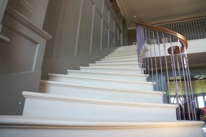 Staircase designed with Cathedral Works, Chichester.